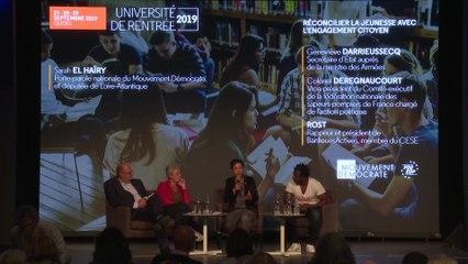 Réconcilier la jeunesse avec l'engagement citoyen - UR2019