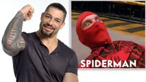 WWE Superstar Roman Reigns Reviews Wrestling Scenes in Movies