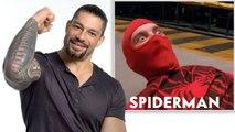 WWE Superstar Roman Reigns Reviews Wrestling Scenes in Movies