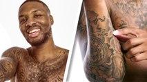 Damian Lillard Breaks Down His Tattoos