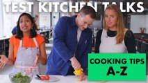 Pro Chefs Give 26 Cooking Tips for Every Letter A-Z