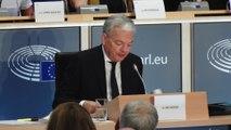 Grand oral de Didier Reynders devant les députés européens