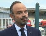 Rouen : Edouard Philippe se rend à l'usine Lubrizol