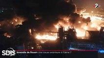 """Le Fil Actu - Une autre usine classée Seveso «seuil haut», près de Rouen, mise à l'arrêt après un incident technique - Les résultats d'analyses sur les suies et pollutions après l'incendie de l'usine Lubrizol publiés """"demain ou après-demain"""""""