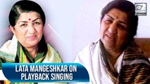 Lata Mangeshkar: I Was Never  Satisfied With My Own Singing   Flashback Video