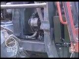 Tracteur moteur pantone à l'eau