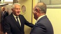 Dışişleri Bakanı Çavuşoğlu, Avrupa Konseyi eski Genel Sekreteri Jagland ile görüştü - STRAZBURG