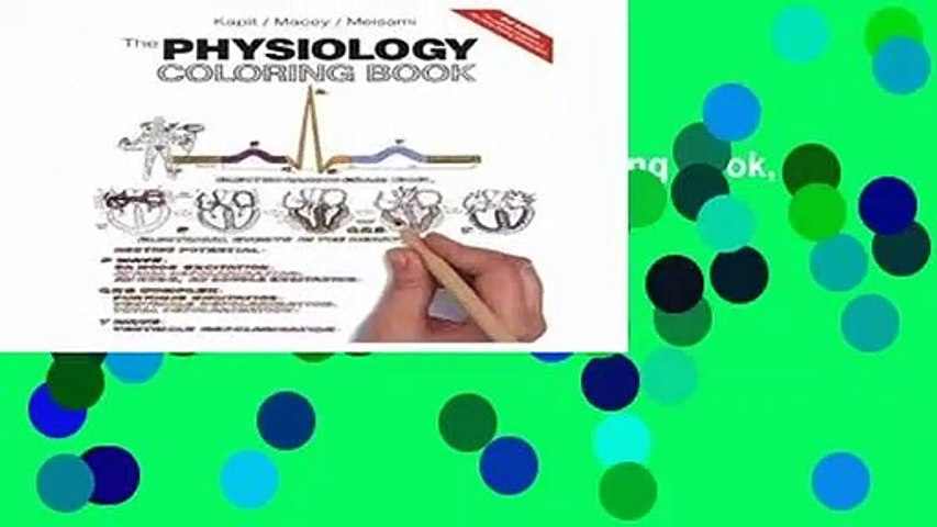 Full E-book  The Physiology Coloring Book, 2nd Ed.  For Free