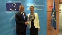 Çavuşoğlu, avrupa konseyi genel sekreteri pejcinovic-buric ile görüştü