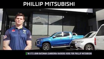 John Bateman Mitsubishi advert