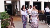 Taapsee Pannu and Bhumi Pednekar Promote Upcoming Movie Sun & Sand