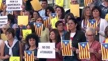 Els treballadors de la Generalitat a Girona agraeixen ls nord-catalans haver fet possible l'1-O