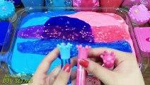 Peppa Pig Slime | Pink vs Blue! Mixing Mixing Random Things into Slime! Satisfying Slime s #560