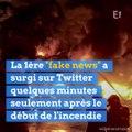 Rouen : après l'incendie de l'usine Lubrizol, les fake news se multiplient