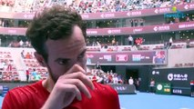 ATP - Pékin 2019 - The message of Andy Murray : in Beijing he eliminated Matteo Berrettini, 13th world and semi-finalist at the US Open