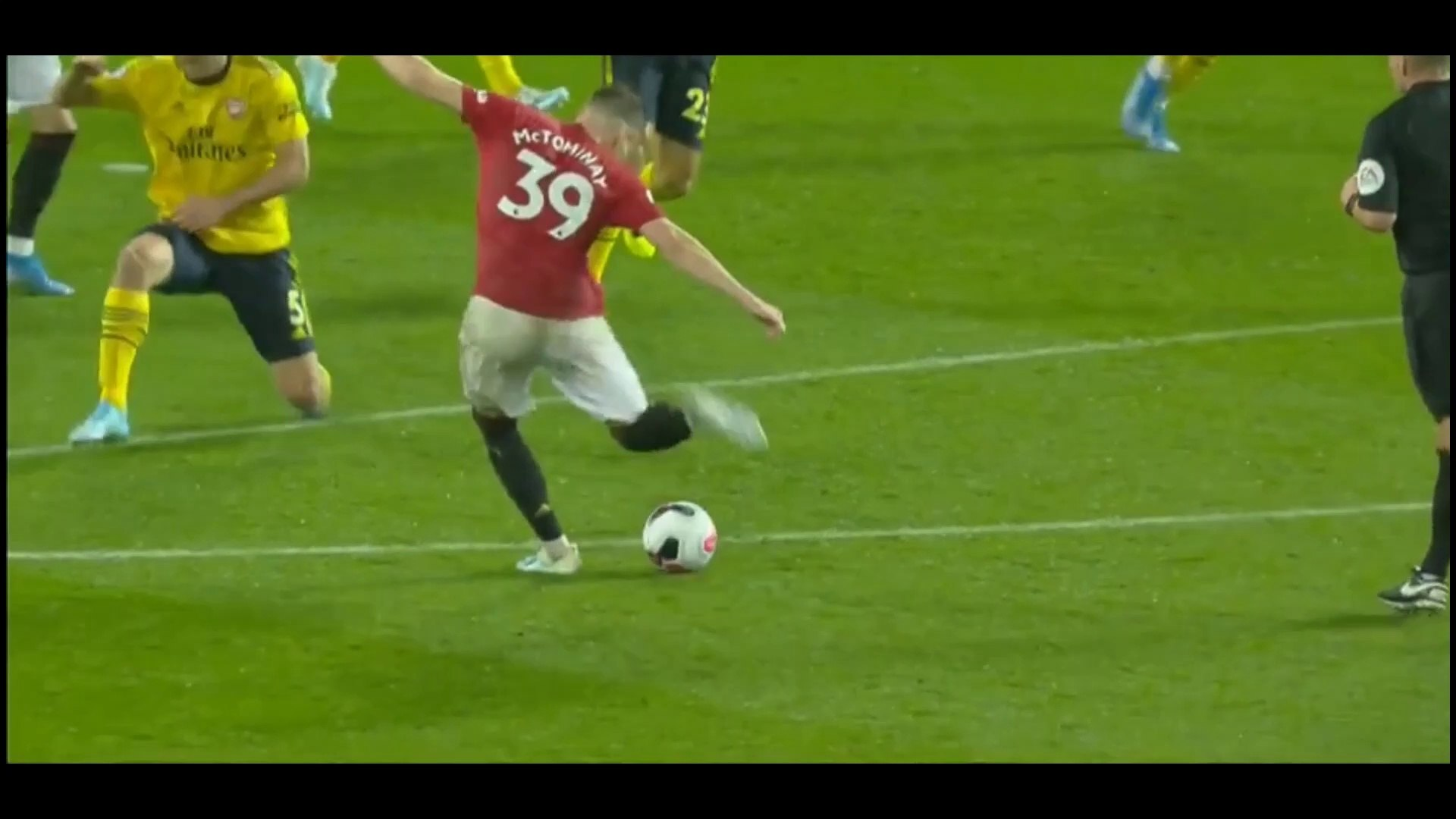 Scott McTominay Brilliant Strike Vs Arsenal