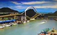 L'effondrement spectaculaire d'un pont à Taïwan !