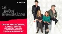 La Boîte à Questions de Chiara Mastroianni, Camille Cottin, Benjamin Biolay et Vincent Lacoste – 01/10/2019