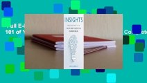 Full E-book  INSIGHTS: Reflections From 101 of Yale's Most Successful Entrepreneurs Complete
