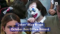 'Joker' May Break October Box Office Record