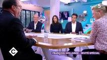 On sait (enfin) ce que François Hollande a dit à Carla Bruni lors de l'hommage à Jacques Chirac