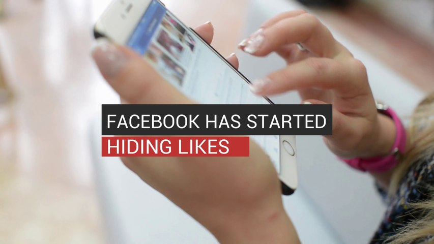 Facebook Has Started Hiding Likes