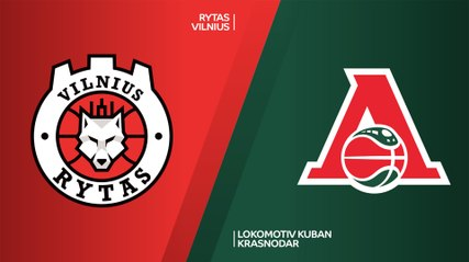7Days EuroCup Highlights Regular Season, Round 1: Rytas 92-86 Lokomotiv