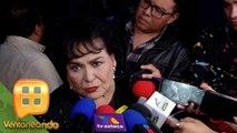 Carmen Salinas no concibe que Sarita Sosa no deje ver cuerpo de José José a sus hermanos. | Ventaneando