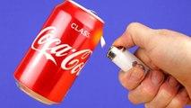 8 Smart Ideas vs Funny Life Hacks coca cola , How to do