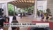 N. Korea, U.S. agree to resume nuke talks on Oct. 5