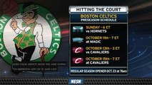 Boston Celtics Set To Open Preseason Oct. 6 Vs. Charlotte Hornets