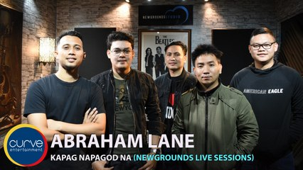 Abraham Lane - Kapag Napagod Na - Newgrounds Live Sessions