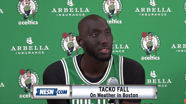Tacko Fall On Cold Weather In Boston