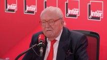 """Jean-Marie le Pen, fondateur du Front National, à propos d'Eric Zemmour : """"Je l'admire, il a un courage exceptionnel, mais il n'a pas l'intention d'être un acteur politique"""""""