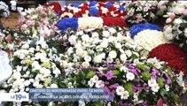 Des centaines de français se sont recueillis sur la tombe de Jacques Chirac au cimetière du Montparnasse à Paris depuis ses obsèques - VIDEO