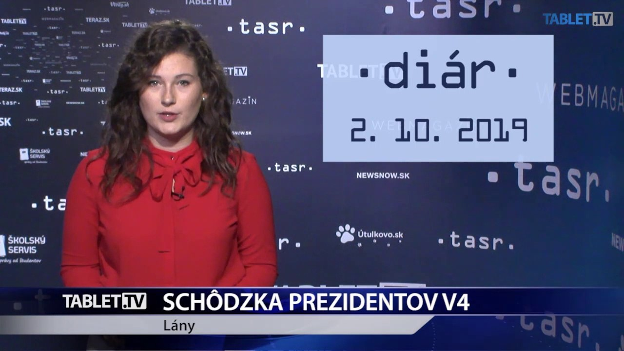 DIÁR: Prezidentka Z. Čaputová sa zúčastní na schôdzke prezidentov krajín V4