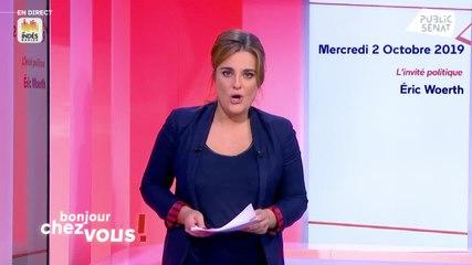 François Patriat - Public Sénat mercredi 2 octobre 2019