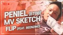 [Pops in Seoul] Flip! Peniel(프니엘 of BTOB)'s MV Shooting Sketch