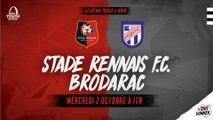 Youth League. Stade Rennais F.C. / Brodarac - présentation de la rencontre