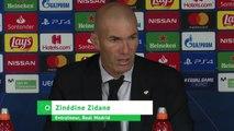"""Football - Zinédine Zidane l'entraineur du Real Madrid :  """"Il n'y a plus de petites équipes en Ligue des Champions"""""""