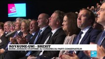 """REPLAY - Brexit : Boris Johnson présente son """"offre finale"""" au congrès du parti conservateur"""