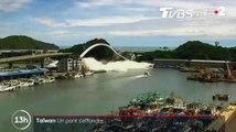 Un pont s'effondre à Taïwan - ZAPPING ACTU DU 02/10/2019