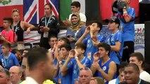 İsrailli sporcular, koruma eşliğinde antrenman yapıyor