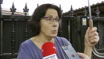 La Guardia Civil inspecciona el piso de la detenida en Castro Urdiales