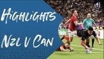 Highlights: New Zealand v Canada