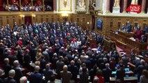 Jacques Chirac: hommage d'Edouard Philippe au Sénat