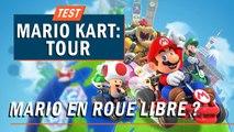 MARIO KART TOUR : Mario en roue libre ? | TEST