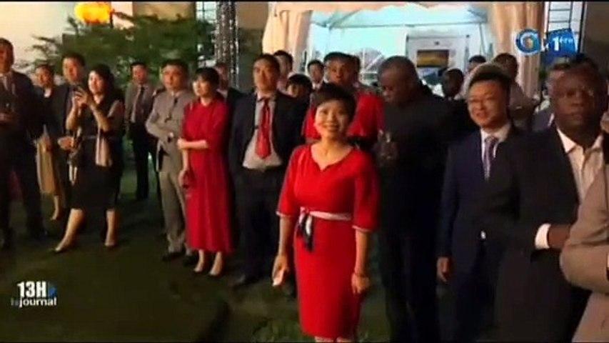 RTG - Célébration du 70ème anniversaire de la fondation de la république politique de Chine à l'ambassade de Chine au Gabon