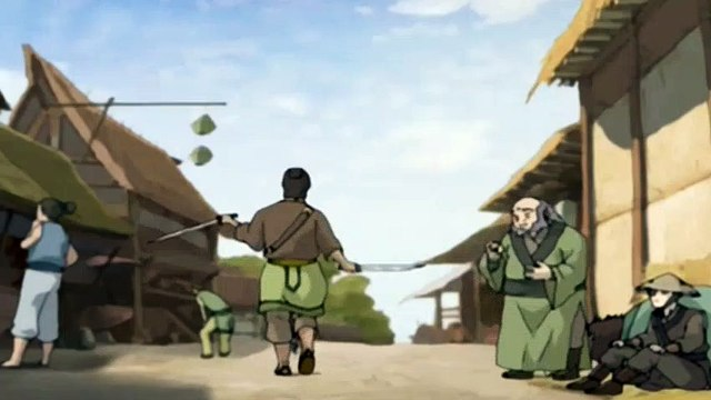 Avatar: The Last Airbender S02E04 The Swamp - The Last Airbender S02E04