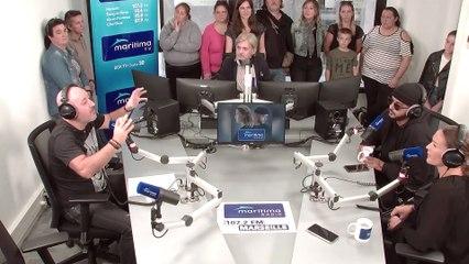 Extrait interview Vitaa et Slimane au micro de Marc Galy